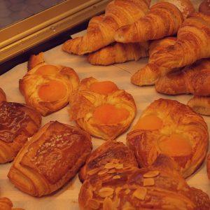 Croissants abricots