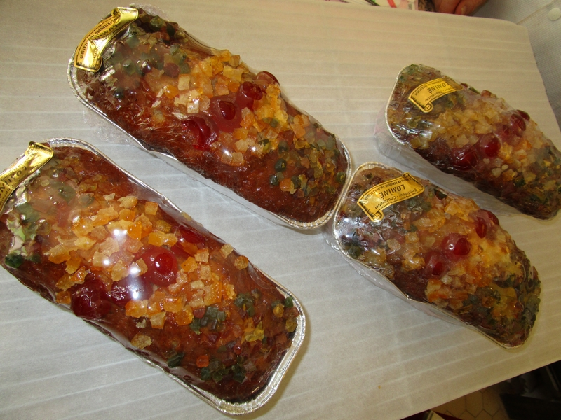 Cake aux fruits macérés Rhum - Maison Lominé