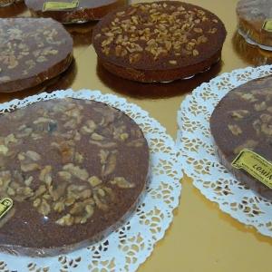Gâteau aux noix de la maison Lominé à Neuvic