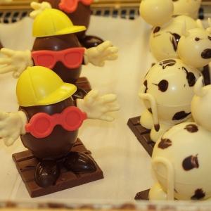 Figurines Pâques en chocolat Chocolatier Lominé Périgord